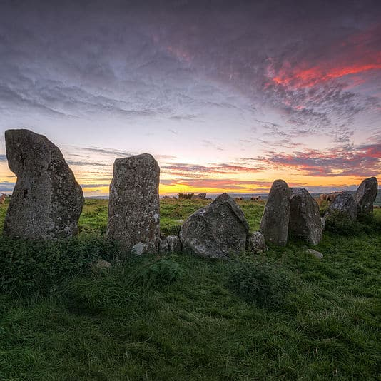 Beltany Ancient Standing Stone Circle – Donegal Crop