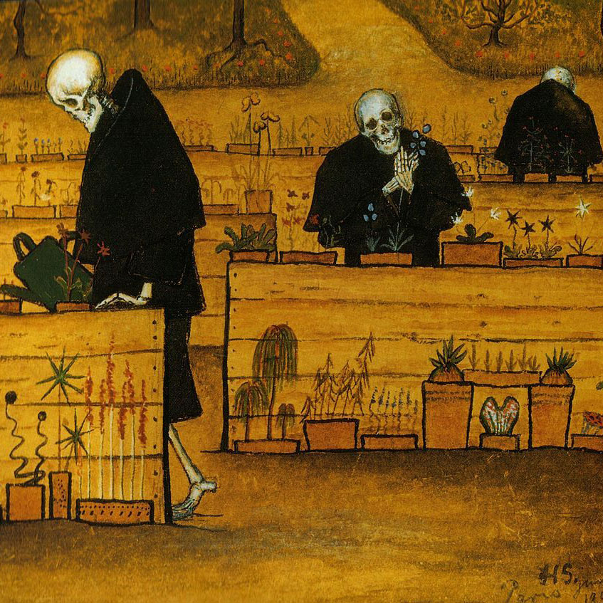 hugo simberg garden of death sq